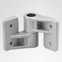 Tubular Connectors: Ø 30 mm: Wall bearing corner fastening 1713